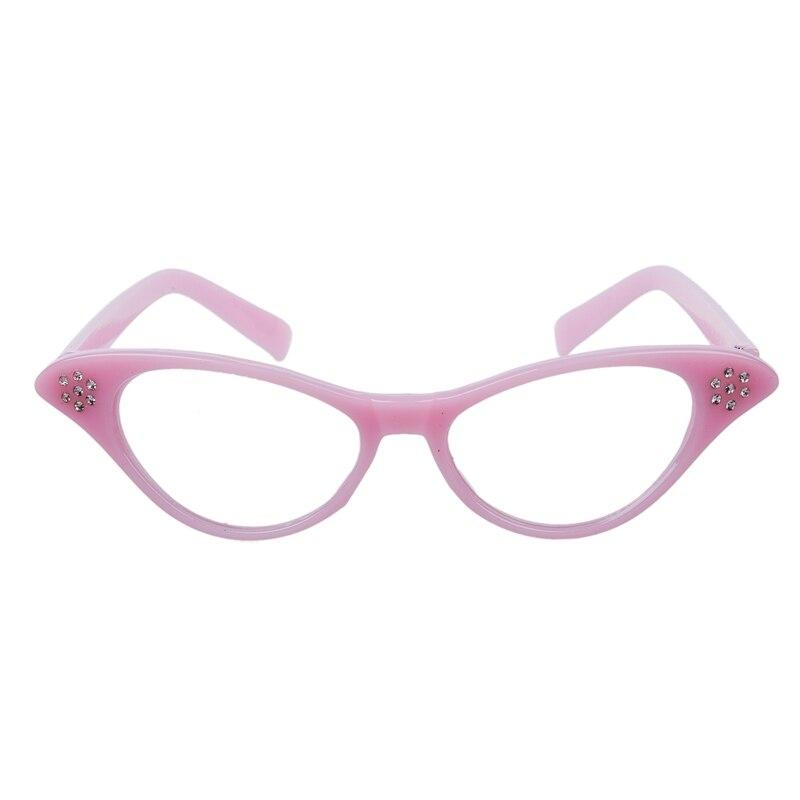 Rosa 50er Fett Damen Rock und Roll Phantasie Kleid Gläser