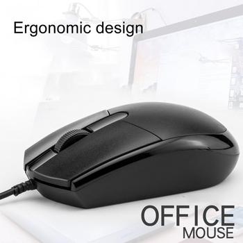 Universal USB Wired Mouse for Business Home Office Gaming Optical 1200DPI Mouse for PC Laptop 1.5M Cable USB Mice
