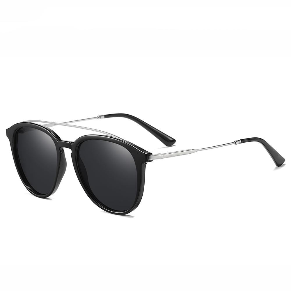 darktrees Fashion Stylish Metal+TR90 Frame Sunglasses Shades for MenWomen, Polarized, 100% UV400 Protection