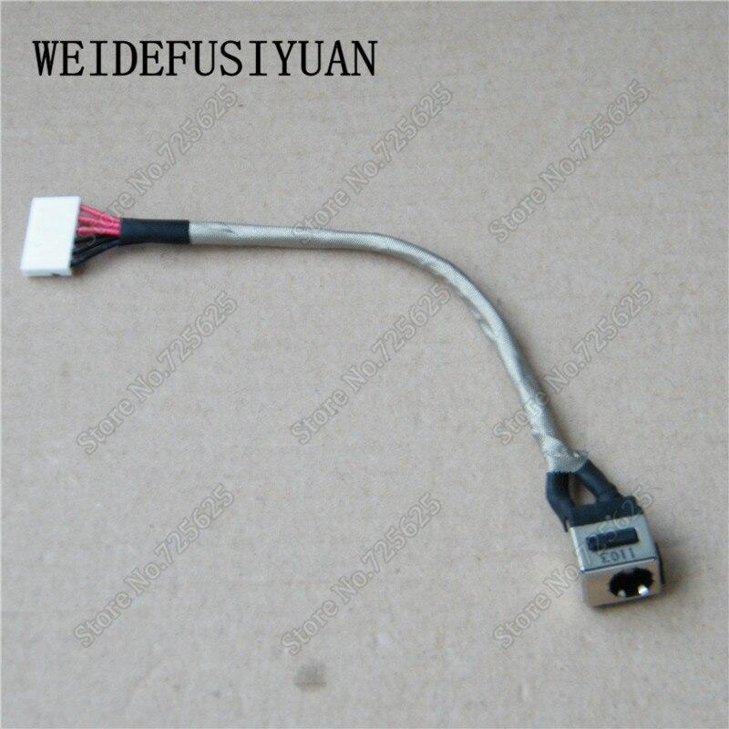 Jack de alimentación DC con arnés de alambre para MSI GE62 GE72 GF62 GF72 GL62 G5072 GP62 GP72 GV72 GS70 serie