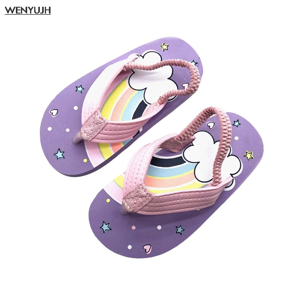 Children Slippers Boys Flip-flops Summer Casual Sandals Fashion Waterproof Child Beach Shoes Baby Gi
