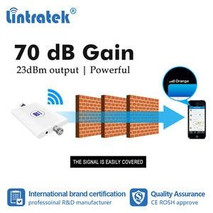 Image 2 - Lintratek 70dB 2G 3G 850 1900 ретранслятор GSM UMTS 1900mhz усилитель сотового сигнала CDMA B2 B5 3G Усилитель антенна yagi комплект dj