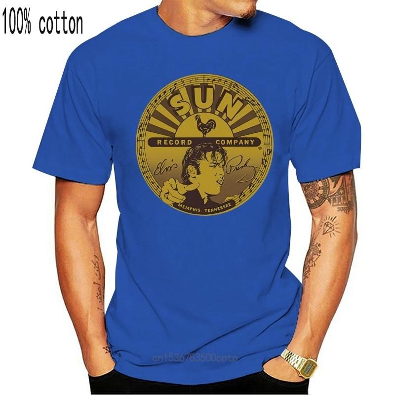 New Sun Records Elvis Full Sun Label Licensed Women T-Shirt All Sizes