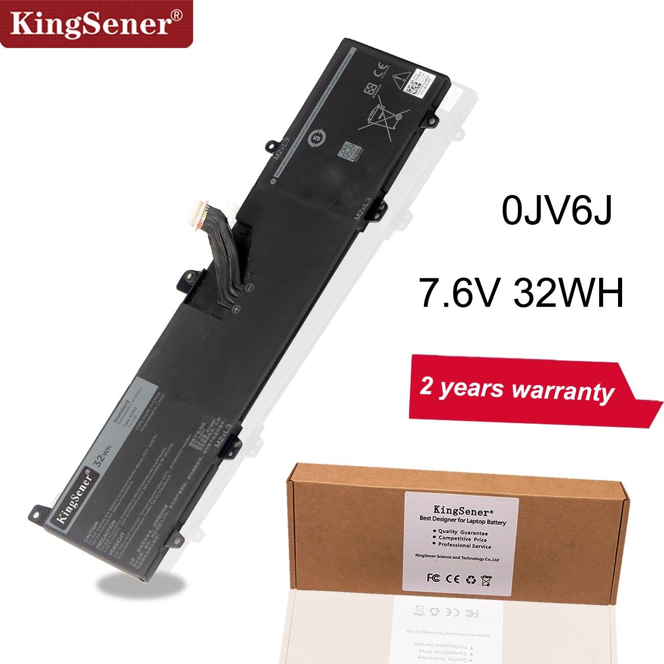 KingSener 0JV6J Laptop Battery For Dell Inspiron 11-3000 3162 3164 3168 8NWF3 PGYK5 0HH6K9 7.6V 32Wh