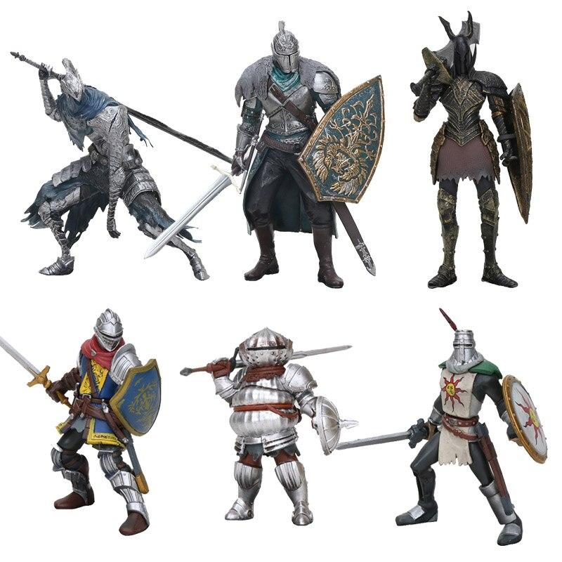 Figura de Dark Souls de Faraam Knight, Artorias el Caminante del Abismo, Dark Souls, Caballero de Astora, óvalo, juguete de modelos coleccionables, regalos