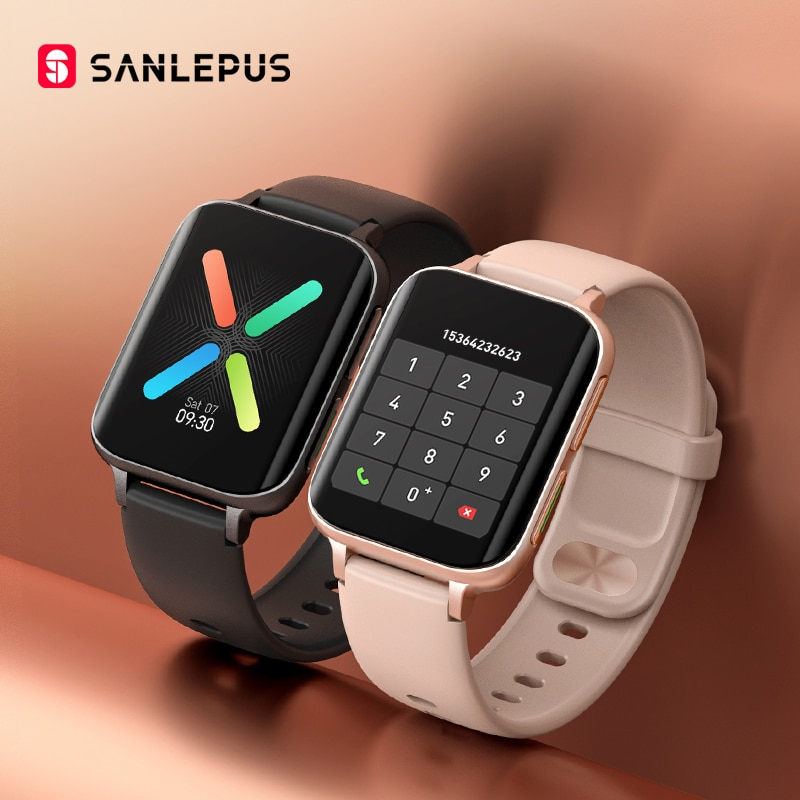2021 NEW SANLEPUS Bluetooth Calls Smart Watch Men Women Waterproof Smartwatch MP3 Music Watches For