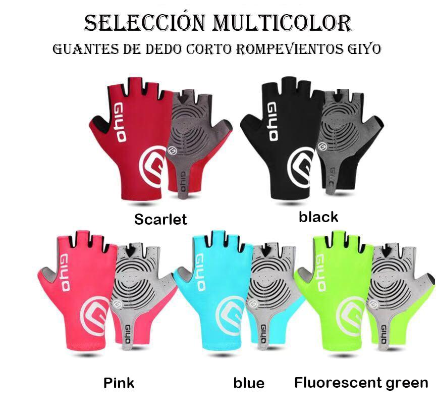 GIYO-guantes de Gel para ciclismo con pantalla táctil para hombre y mujer,...