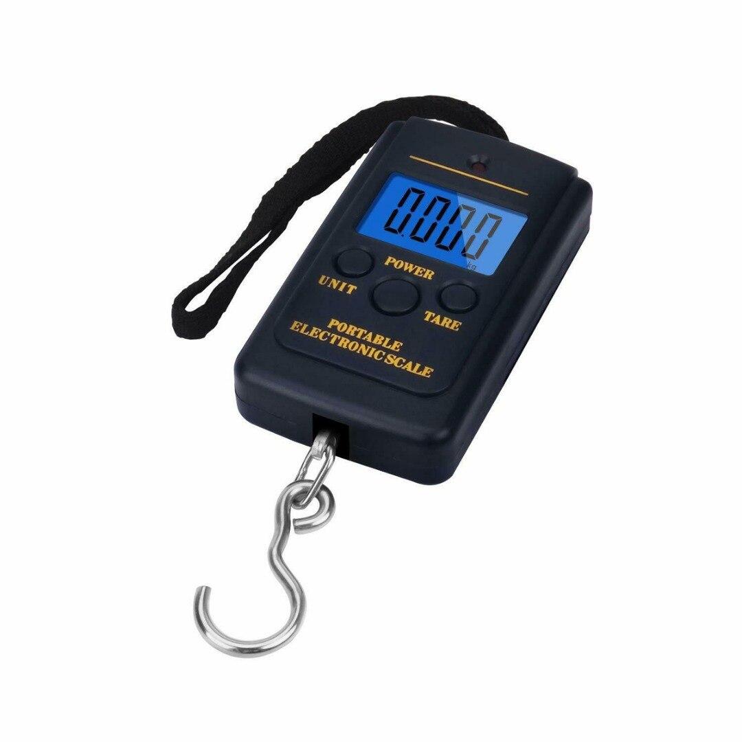 Электронные мини-весы для багажа, 40 кг