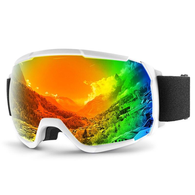 Polarized Outdoor Ski Glasses Double Snowboard Goggles Mountaineering Ski Glasses Windproof Gafas De Ski Skiing Eyewear EF50SG