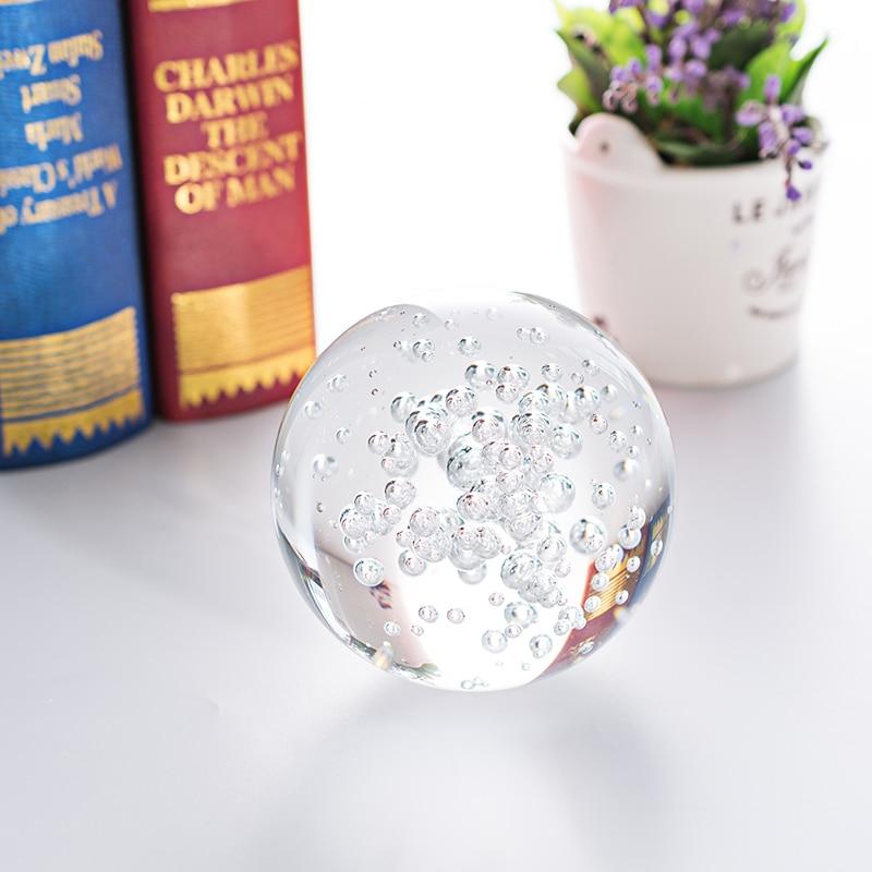 Bola De burbuja De Cristal transparente De 4/3cm para decoración del hogar,...