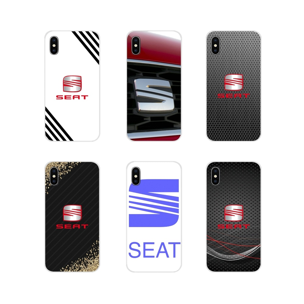 car Seat logo Accessories Phone Shell Covers For Apple iPhone X XR XS 11Pro MAX 4S 5S 5C SE 6S 7 8 Plus ipod touch 5 6