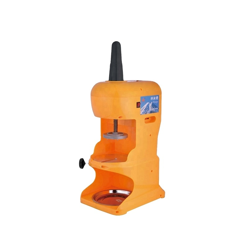 Electric Ice Planer Shaved Snowy Shave Ice Machine for Commercial Kitchen Appliances