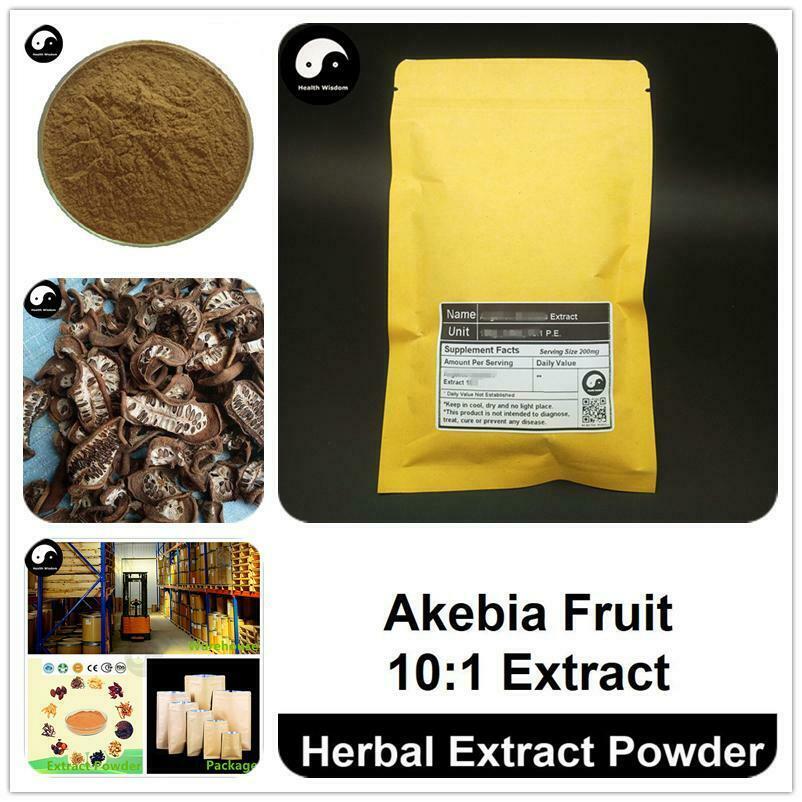 Polvo de extracto de fruta de Akebia, Akebia Quinata p. E. 101 Ba Yue Zha