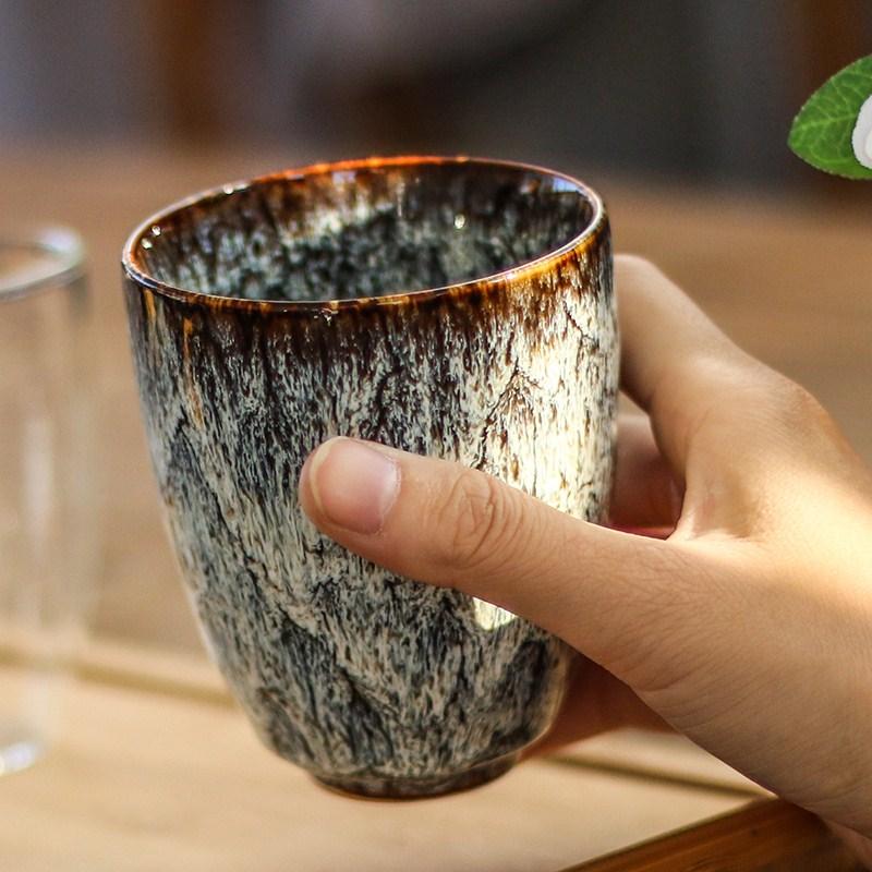 Japanische Keramik 250ML China Tee Tasse Ofen Ändern Keramik Hause Tee Tasse Kreative Keramik Tasse