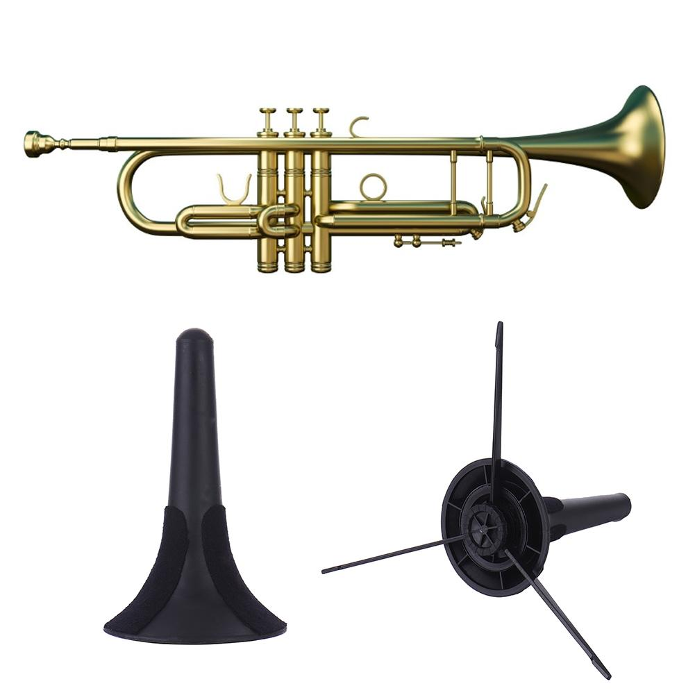 Soporte para trompeta soporte plegable desmontable portátil trípode latón instrumento Musical Accesorios
