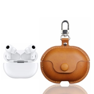 Fashion Earphone Case for Huawei Freebuds pro Case Shookproof PU Leather Protective Cover Headset Charging Box