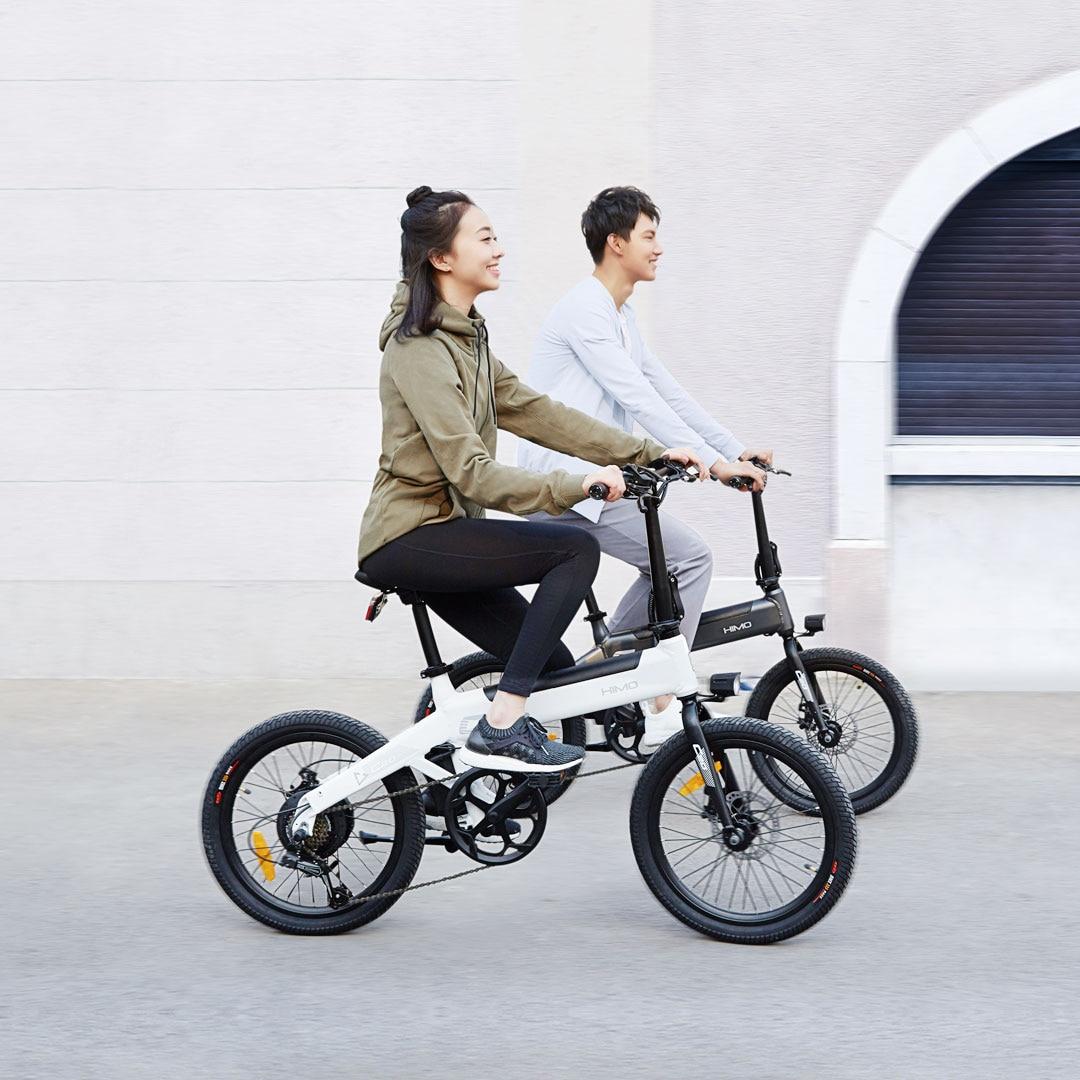 (EU Stock) Electric bike himo C20 250W electric motorcycle Beach Cruiser Booster Bike 36v10AH lithium battery  Scooter E bike