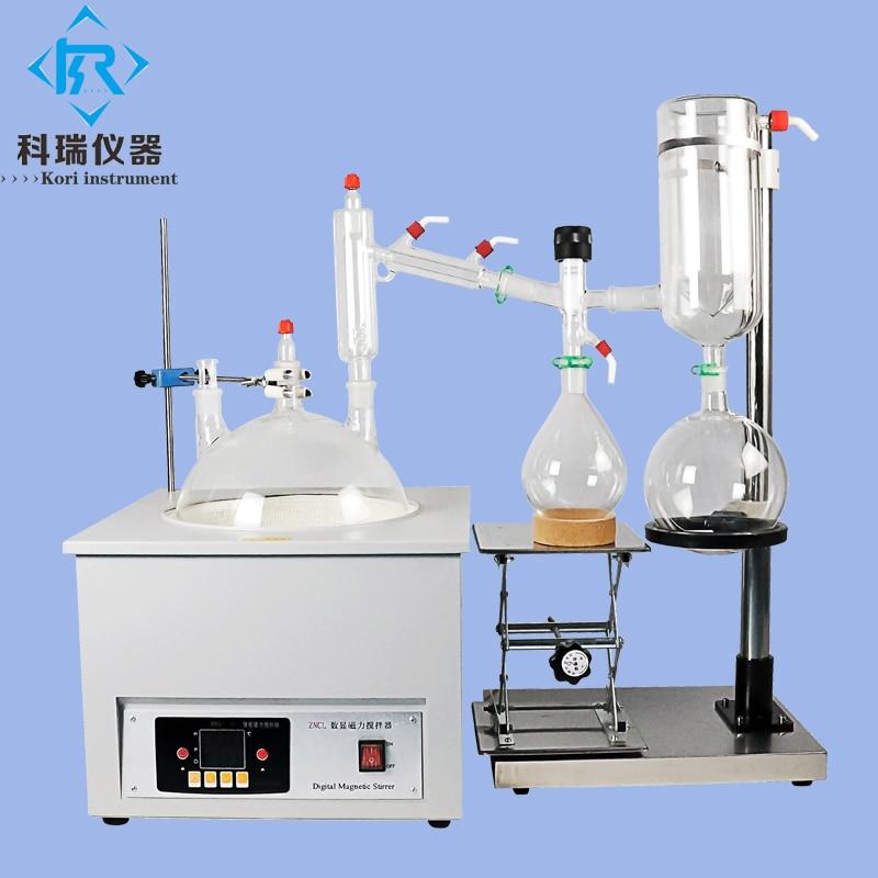 Destilación Molecular de trayectoria corta destilador de aceite CBD de tecnología avanzada