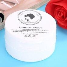 50g crème purifiante soin du visage soin de désintoxication blanchissant nettoyage en profondeur traitement de lacné des taches foncées crème éclaircissante pour le visage