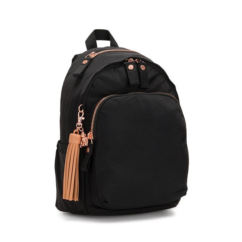 حقائب ظهر نسائية فاخرة بتصميم بولسا قرد نايلون أصلي حقائب ظهر للسيدات حقيبة كتف نسائية حقيبة ظهر للسيدات