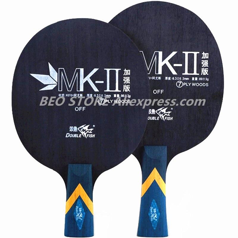 Двойное рыболовное лезвие для настольного тенниса KOTO + из материала Yous, с 7 петлями для управления лесами, двойная ракетка для пинг-понга и ле...