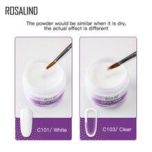 ROSALIND-poudre acrylique pour Extension ongles, sculpture, construction en cristal polymère, 30g, pour Nail Art
