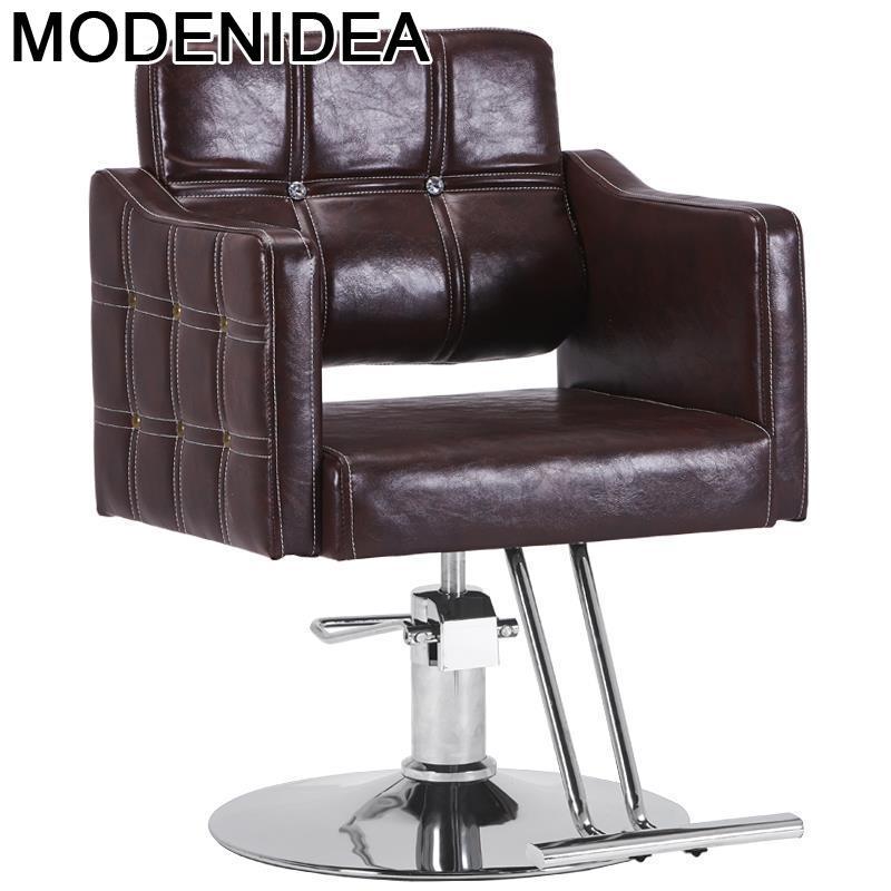 Косметическое кресло для волос, многофункциональная мебель для ногтей, стул для макияжа, барбекю, Silla, барбекю, магазин, салон, парикмахерски...