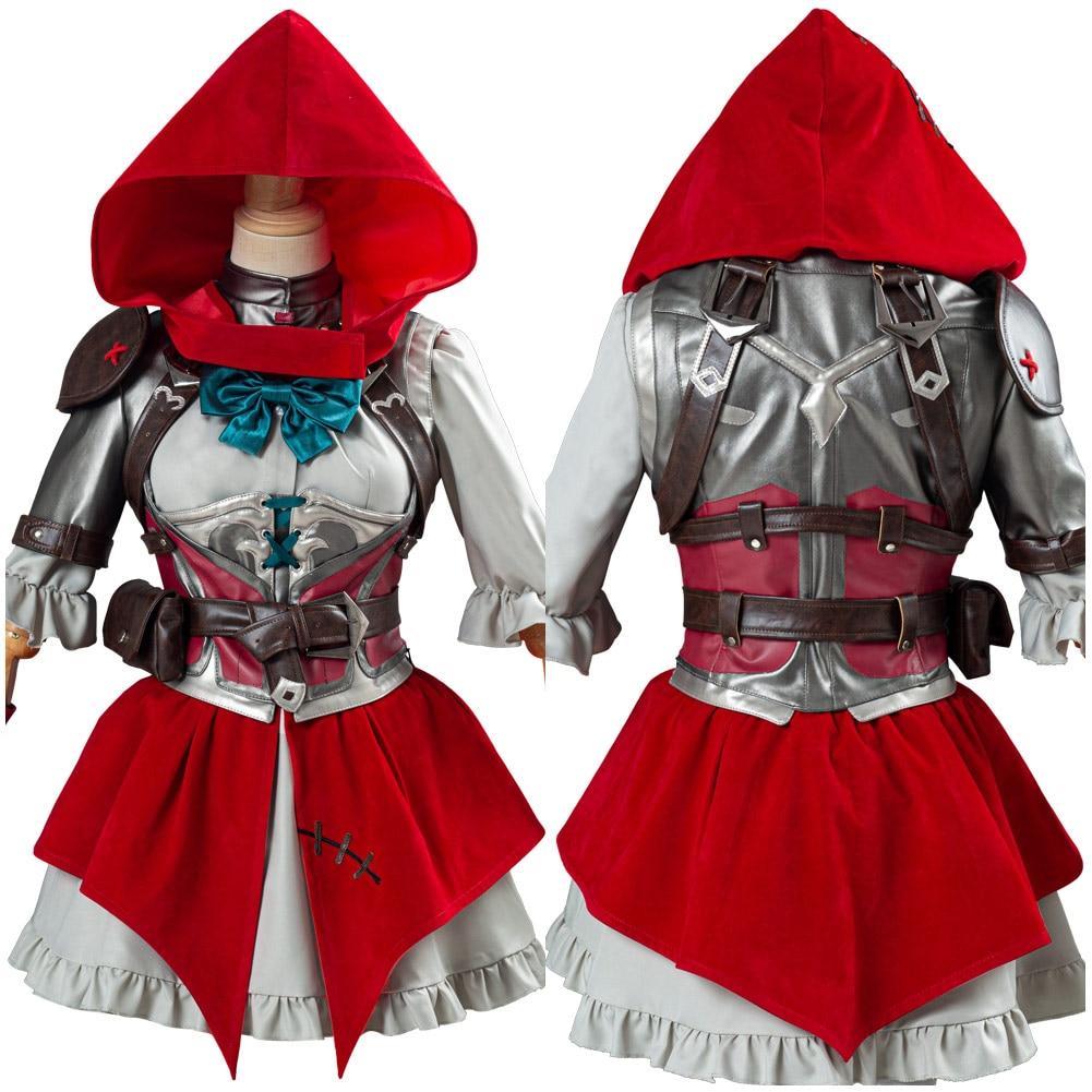 OW Ashe Elizabeth Caledonia Cosplay disfraz capucha vestido uniforme traje completo Halloween carnaval disfraces