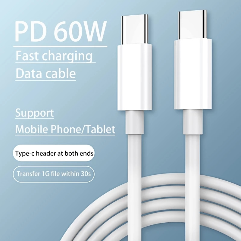 Quality PD Fast Charging Usb c Cable 2m/6FT for iPhone 12 11 pro Max Xs XR 6 pin to Type C