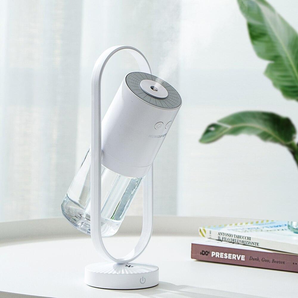 Humidificador de iones de aire, difusor de aceite esencial ultrasónico de 200ml, purificador de aire, luces para hogar, oficina y dormitorio
