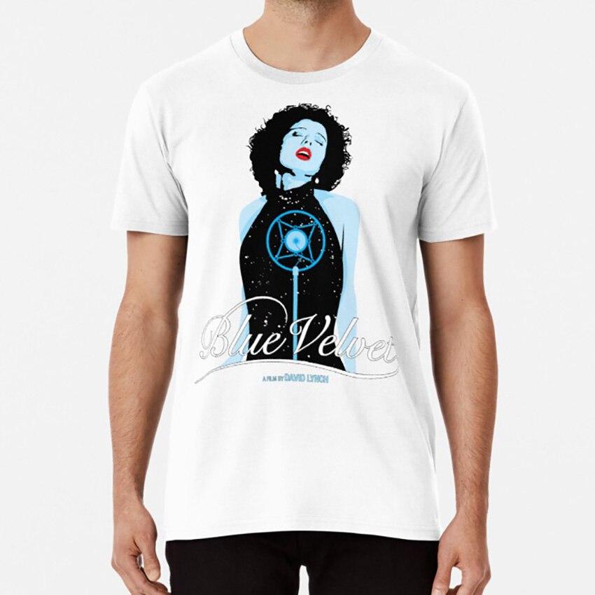 Terciopelo azul-Dorothy Vallens T camisa azul de David Lynch Twin Peaks Dorothy Vallens Laura Dern, Kyle Maclachlan