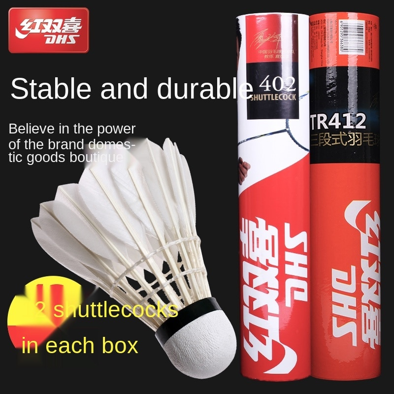 Badminton Durable King 12 Pieces Are Not Easy to Break Indoor and Outdoor Game-Specific Three-Section Practicing Ball