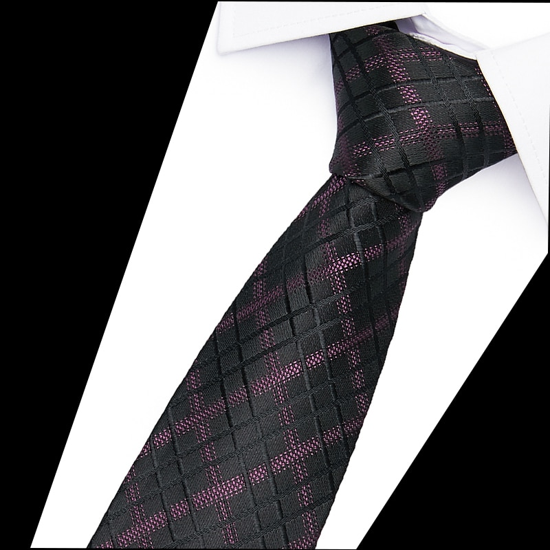 Hot Sale 6cm Neck Ties For Men 100% Silk Wedding Accessories Slim Fashionable Neckties Man Party Business Formal lot недорого