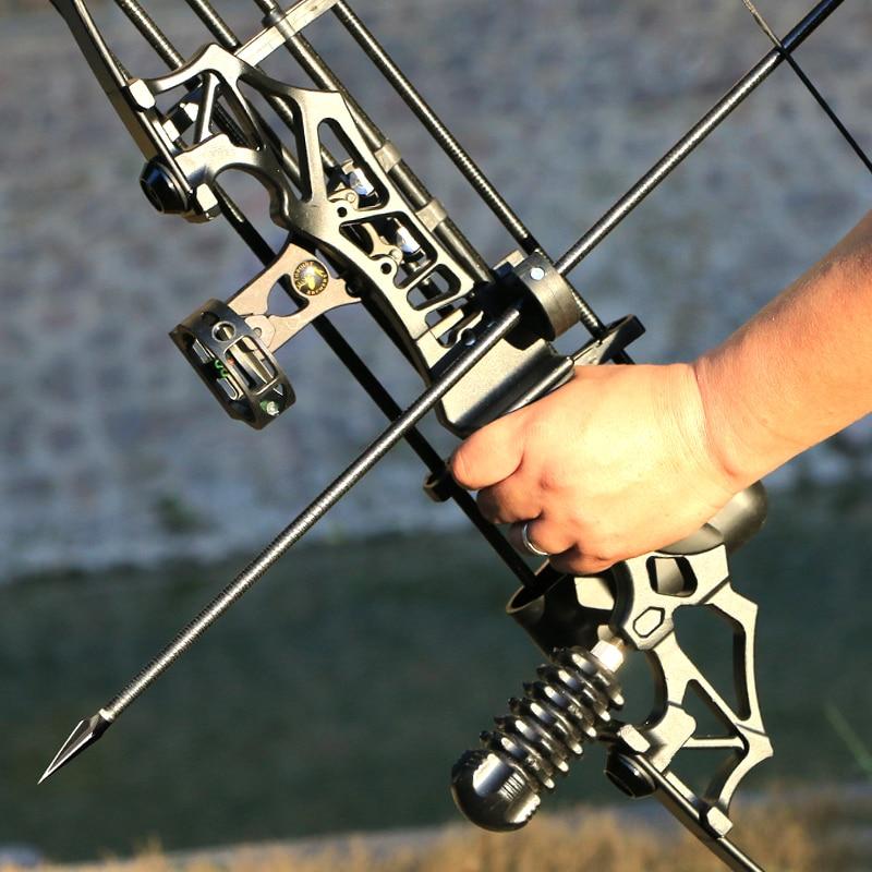 30-50LBS قوس معدني مقبض قوس منحني اليد اليمنى الرماية الرماية الصيد لعبة التدريب أداة الروسية المشتري يمكن شراء