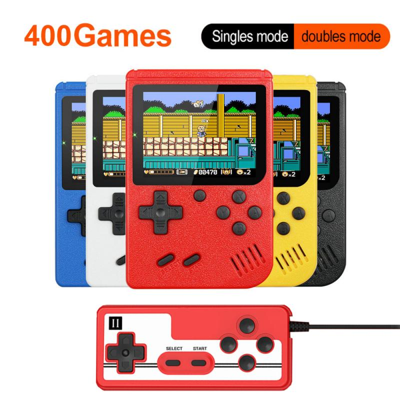 Consola De juegos portátil Retro para niños, 400 Videojuegos integrados, 3,0 pulgadas,...