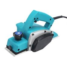 Cepillo eléctrico de madera de 82mm, 800W, 16.000 RPM, 110V, 220V, enchufe estadounidense de la UE, herramientas manuales de bricolaje para carpintería