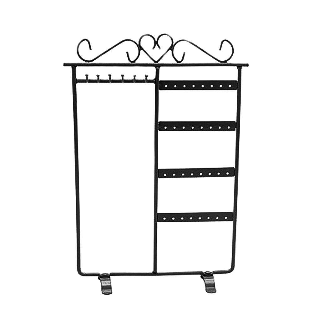 HOT SALES!!!New Arrival 32 Holes 6 Hooks Necklace Hang Stand Holder 4 Tiers Jewelry Show Rack Organizer