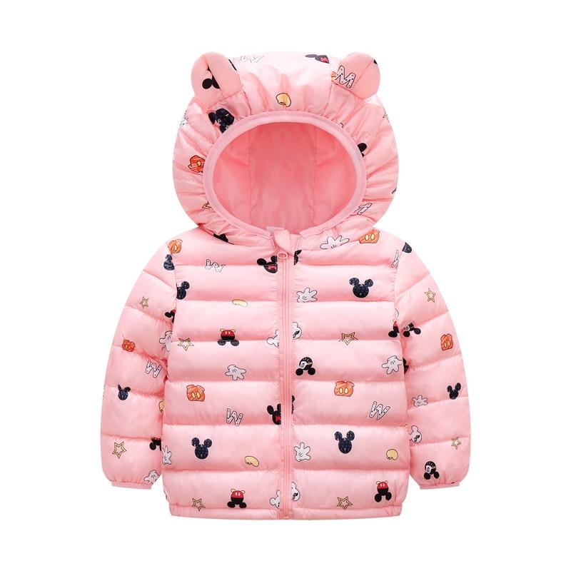 Newborn Winter Autumn Baby Girls Hooded Jacket Coat Rabbit ears Warm Toddler Girls Coats Children Outerwear Boys Kids Jackets