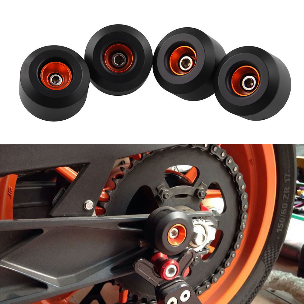 cnc modified motorcycle accessoris front wheel for benelli tnt 899s 2011 2017 drop ball shock absorber 4PCS For YAMAHA MT07 2014-2018 CNC Aluminum Modified Accessories Motorcycle Anti Drop Ball Shock Absorber Axle Protection Wheel