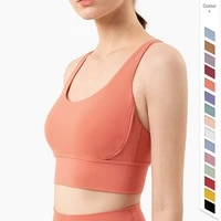 vnazvnasi new color sports bra nylon and spandex breathable yoga tops back cross women sportswear outdoor exercise clothing