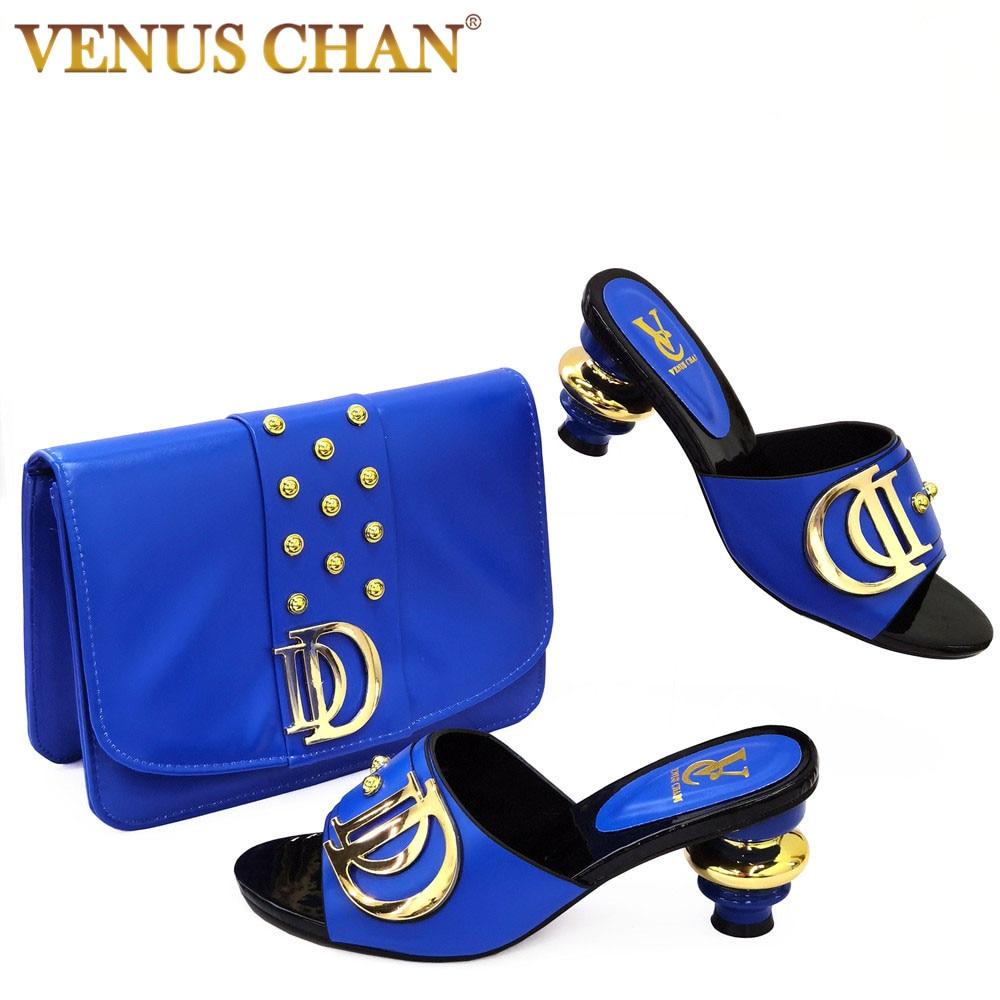 جديد وصول الأحذية الإيطالية مع أكياس مطابقة مجموعة مزينة حجر الراين النساء أحذية الصيف حذاء الزفاف الأفريقي والحقائب