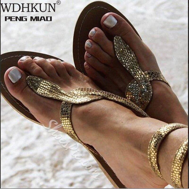 2020 nouveau été dames chaussures femmes sandales fleurs blanches sandales plates femmes bohème décontracté chaussures de plage pour femme 42 43