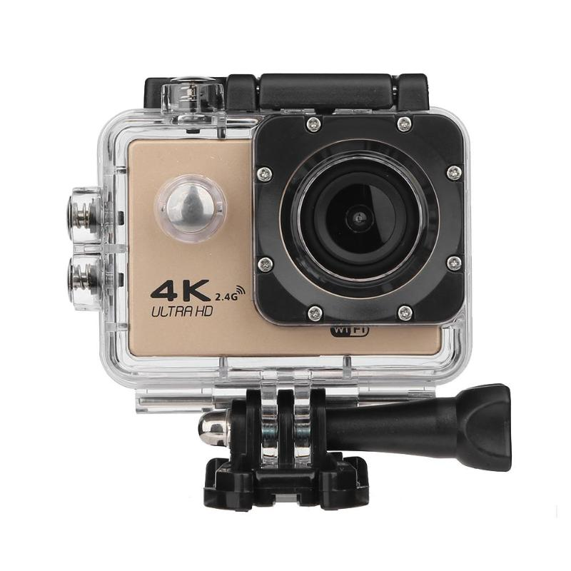 F60R 4K WIFI Remote Action Camera 1080P HD 16MP 170 Degree Wide Angle 30m Waterproof Sports DV Camera for GOPRO with 2in Screen