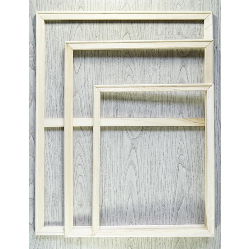 Рамка для DIY цифровой живописи по номерам Современная Настенная живопись холст рамка домашний декор деревянная рамка 40х50см