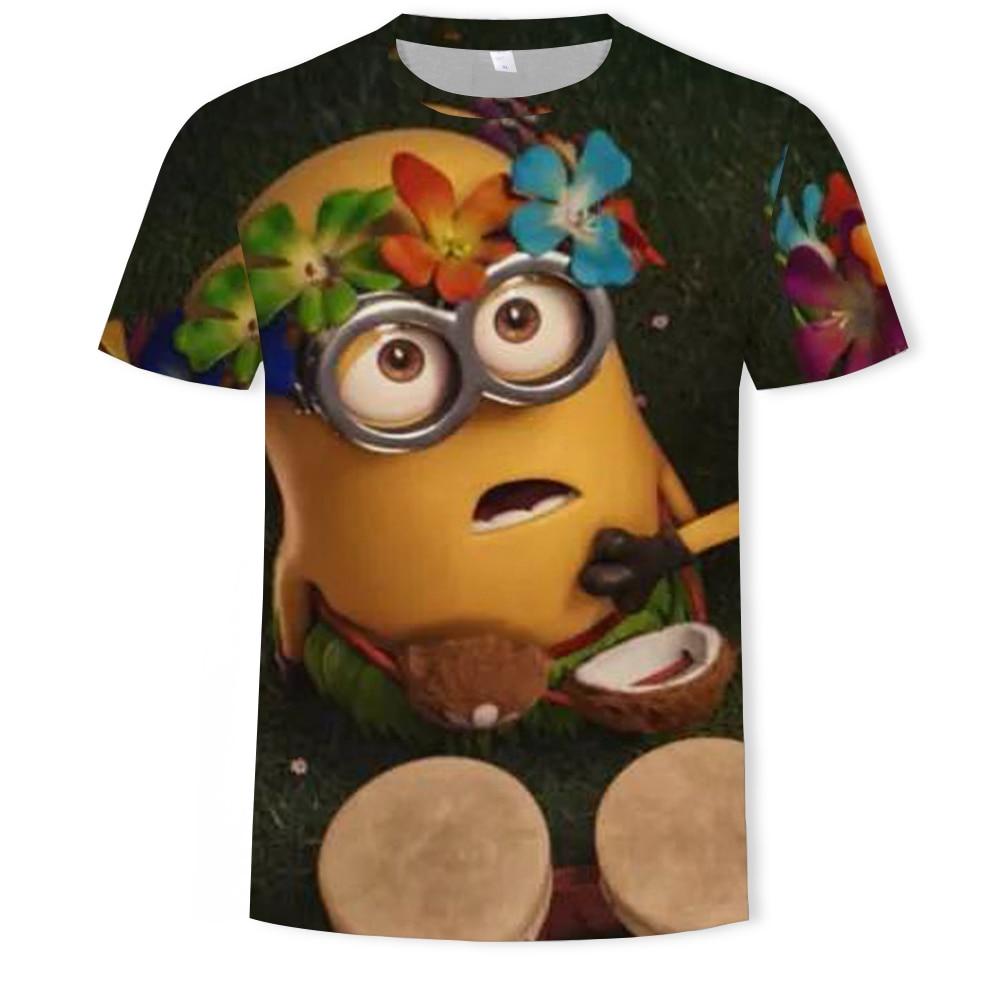 AliExpress - Funny cartoon Tshirt Male Short Sleeve 2021 Fashion Casual  Boy Girl T-Shirt 3D Printed Fashion Street Top