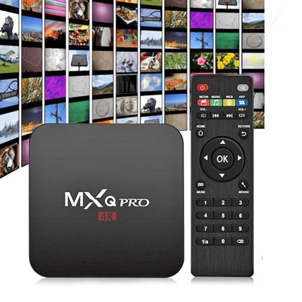 WiFi en casa RK3229 1G + 8G decodificador HD 4K Reproductor Multimedia Inteligente para Android 10,0