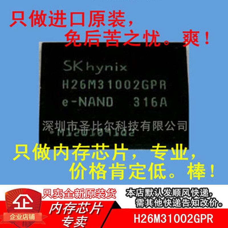New10piece H26M31002GPR 4GB FBGA153 Memória EMMC IC