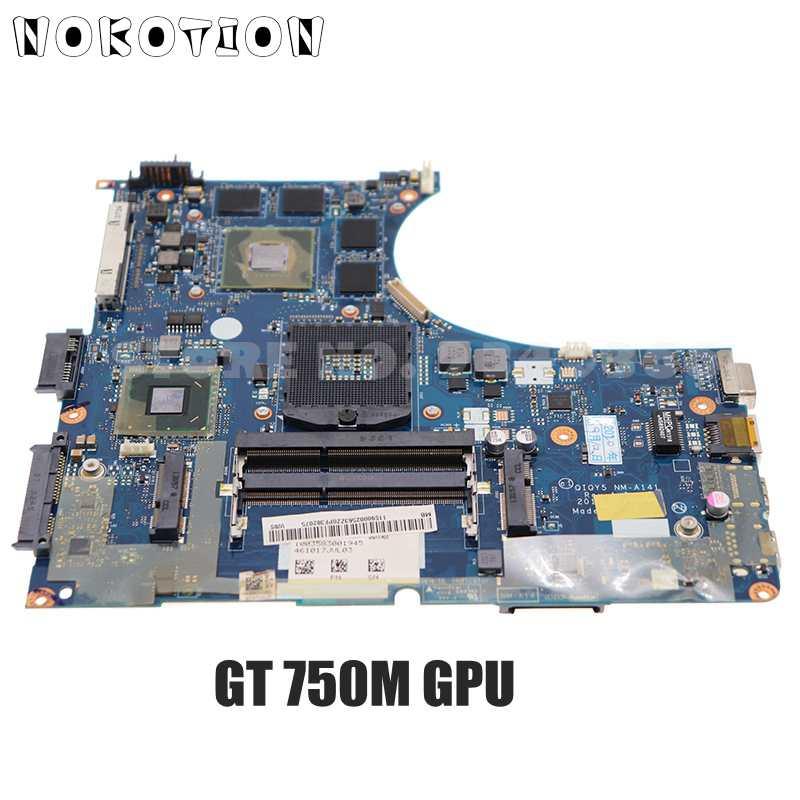 NOKOTION لينوفو IdeaPad Y400 اللوحة المحمول 900002563 QIQY5 NM-A141 اللوحة GT750M GPU