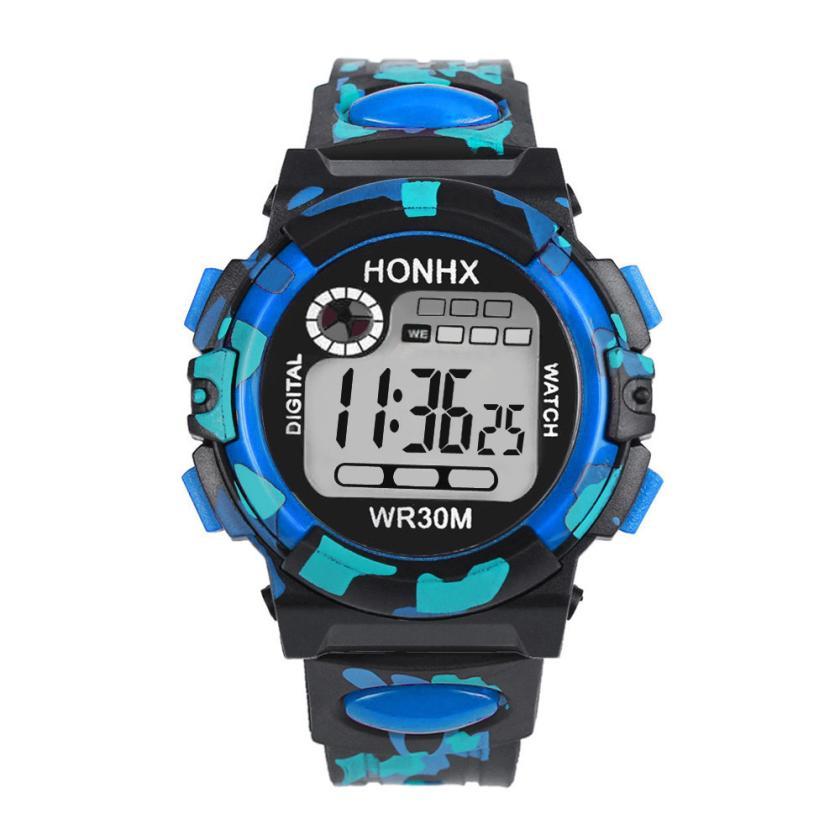 Electronic Kids Watches Fashion Elaborate Subtle Outdoor Multifunction Waterproof Boy Sports Children Watch Montre Enfant Reloj