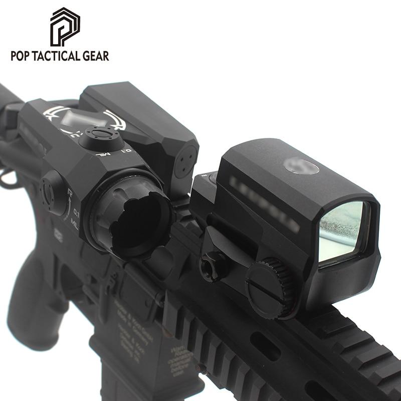 Оптическая сетка DEVO для винтовки D-EVO, с LCO красной точкой